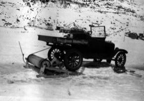 Bil for opptrekk av seilfly